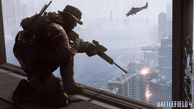 Battlefield 4 Siege of Shanghai Vertical Combat