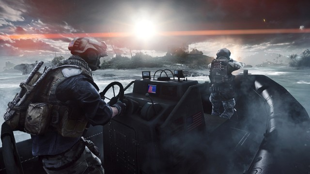 how to get out of the boat in battlefield 4