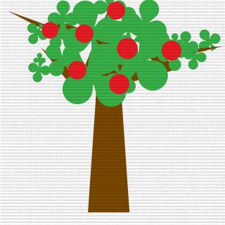 apple tree 谱子