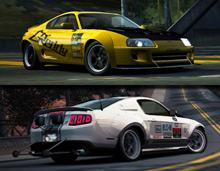 "Pakiet drag! Toyota Supra ""Street Mod"" oraz Ford Shelby® GT500 Super Snake ""Pro Stock"""